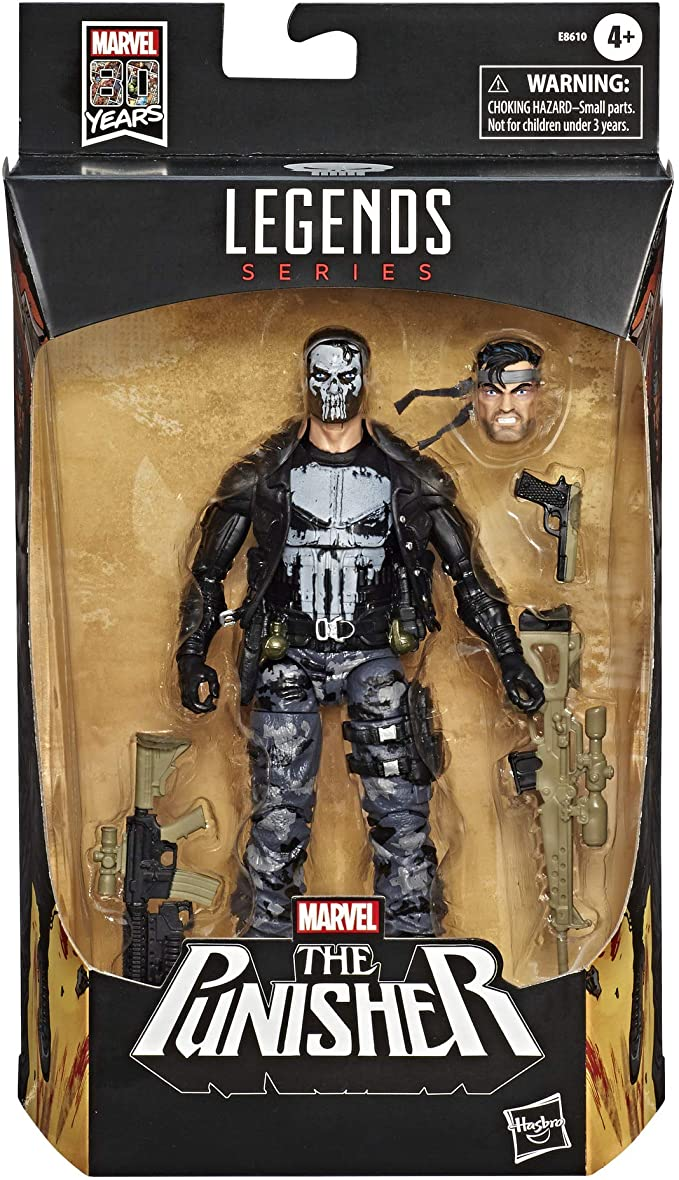 Action Figure Justiceiro - Punisher: The Punisher  Marvel Legends Series