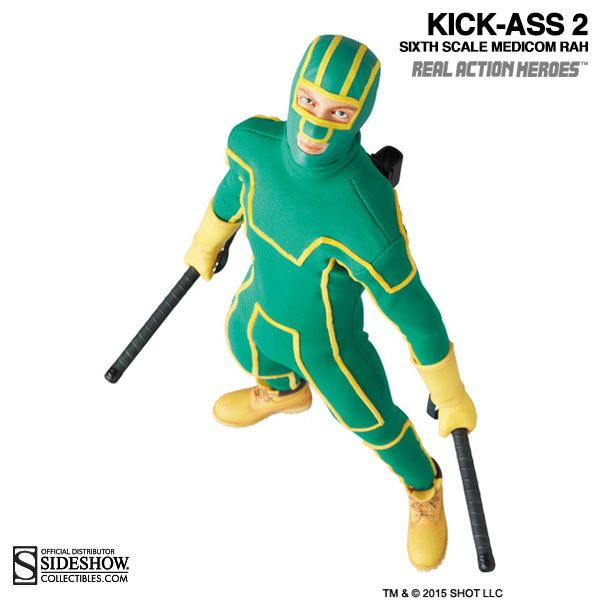 Action Figure Kick-Ass: Kick-Ass 2 - Escala 1/6 - Medicom Toy - CDL