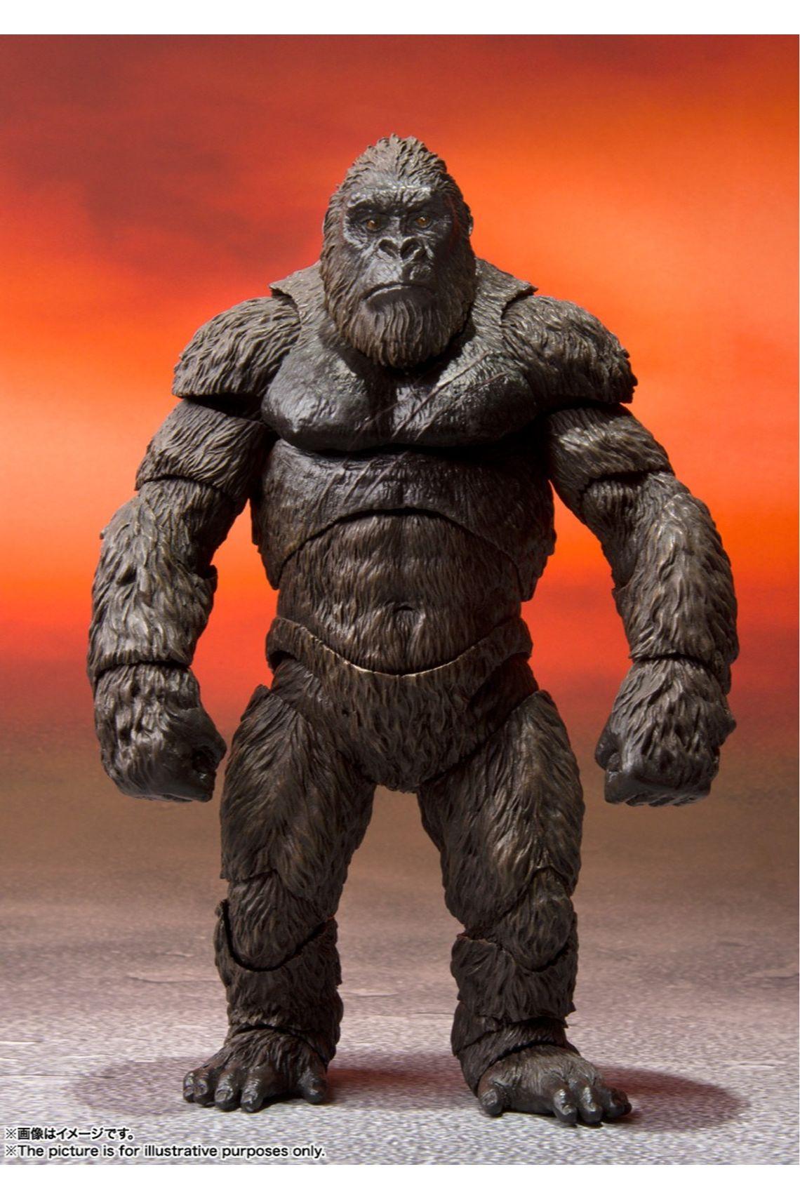 Action Figure King Kong: Godzilla Vs. Kong 2021 MonsterVerse Bandai - H.S Monsters Art