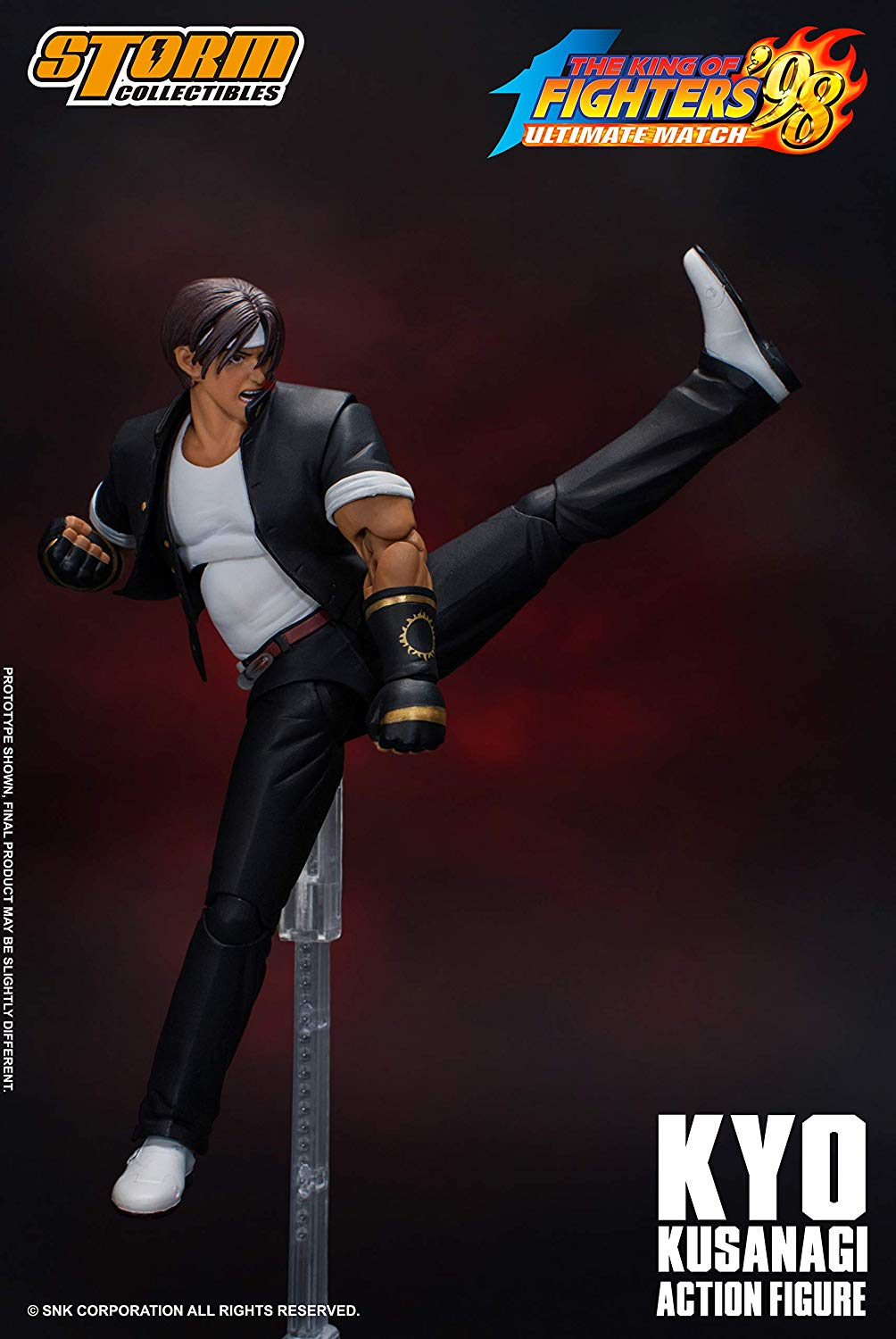 "Action Figure Kyo Kusanagi 7"": The King Of Fighters '98 - Boneco Colecionável - Storm Collectibles"