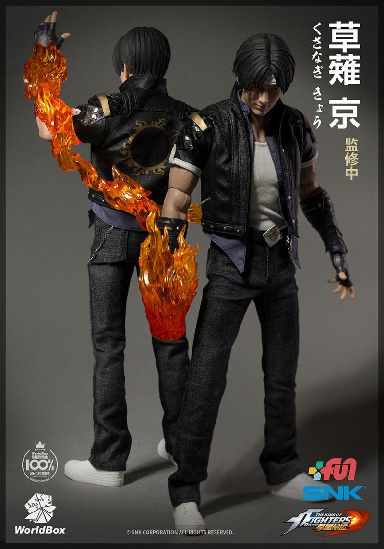 Action Figure Kyo Kusanagi: The King Of Fighters Destiny (SNK)  Escala 1/6 - Woldbox