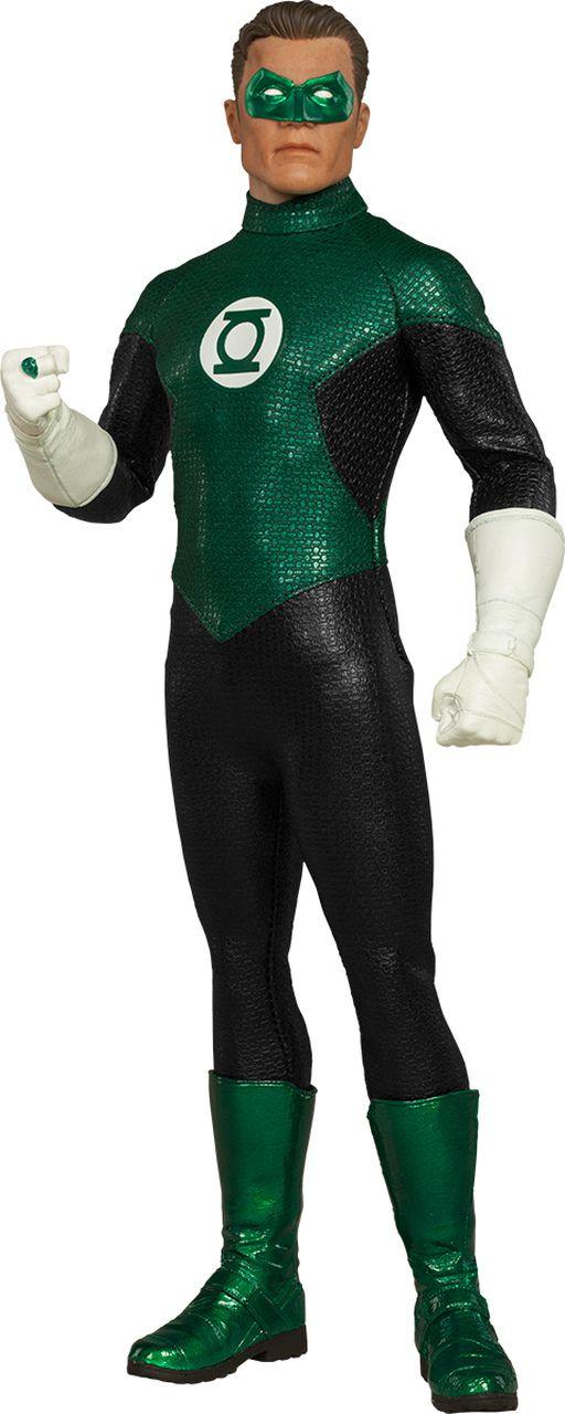 Action Figure Lanterna Verde (Green Lantern): DC Comics Escala 1/6 - Sideshow
