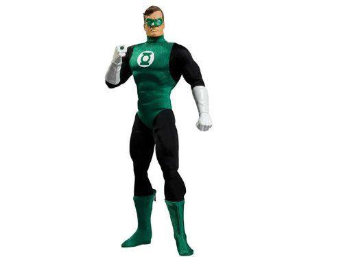 Action Figure Lanterna Verde (Green Lantern Deluxe): Escala 1/6 - Boneco Colecionável DC Direct - CG