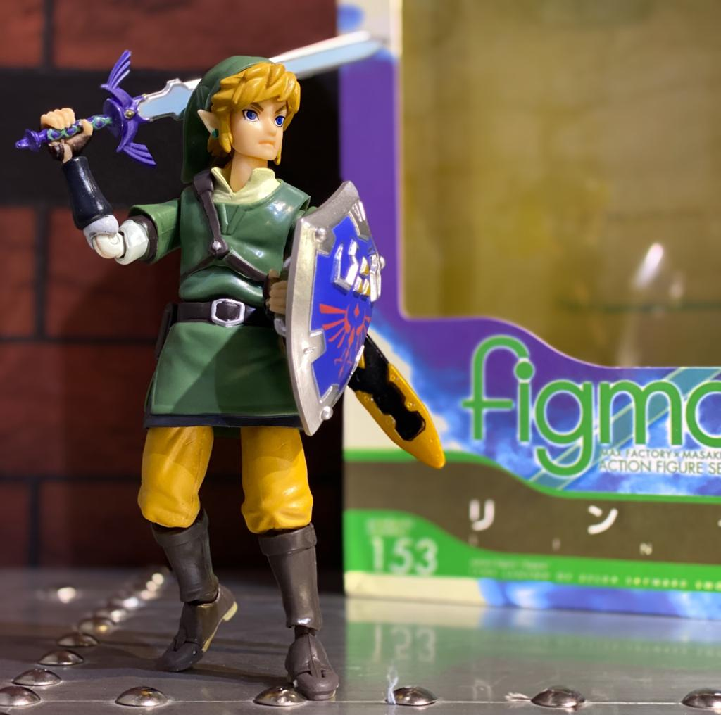 Action Figure Link The Legend of Zelda Skyward Sword No.153 -  Max Factory Figma