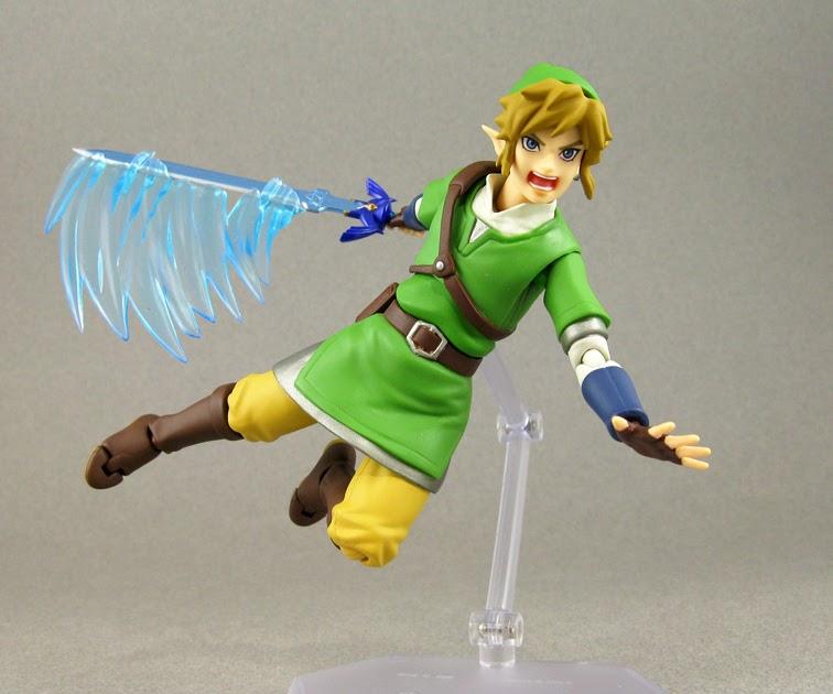 Action Figure Link The Legend of Zelda Skyward Sword No.153 -  Max Factory Figma - MKP