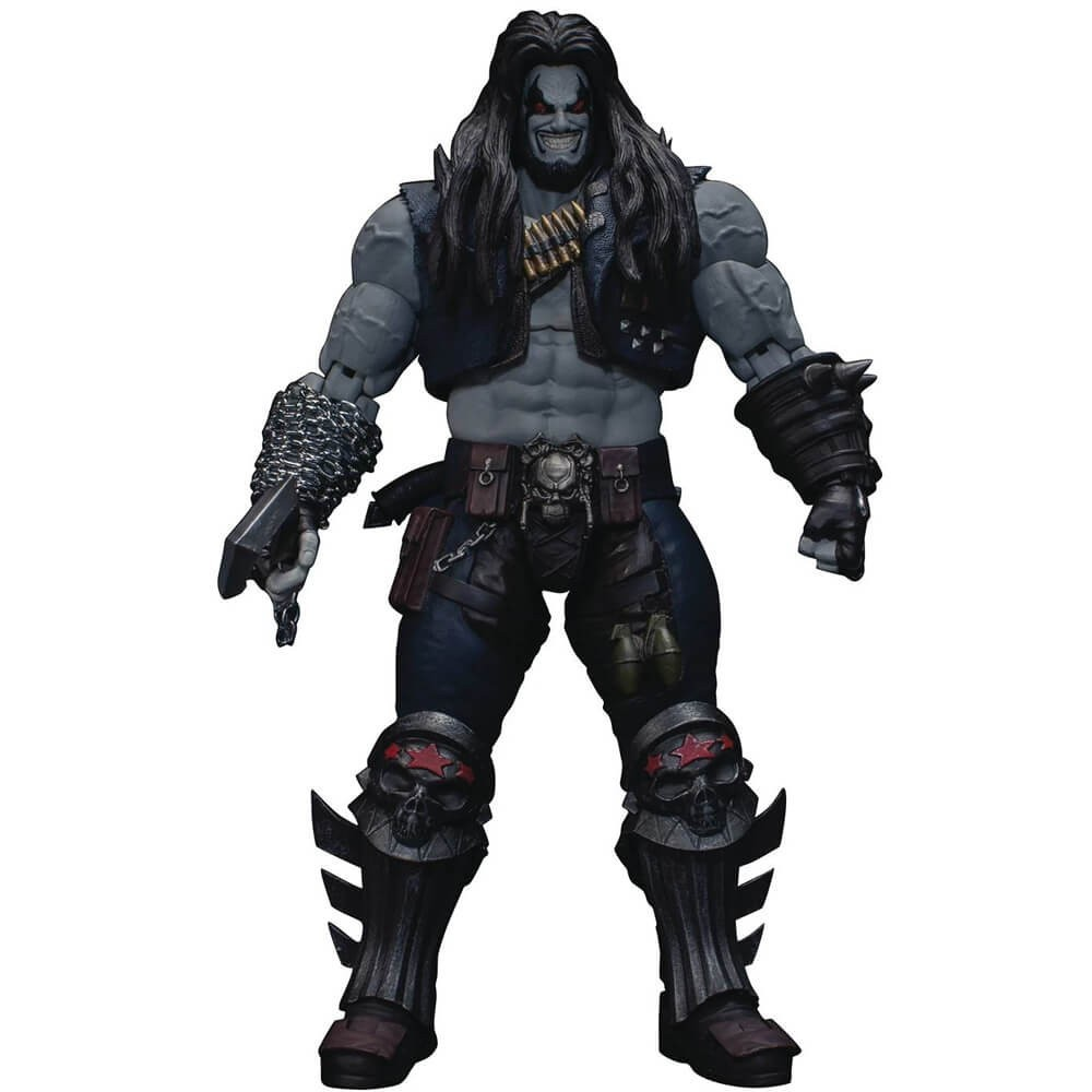 Action Figure Lobo: Injustice: Gods Among Us - Escala 1/12 (Dc Comics) - Storm Collectibles