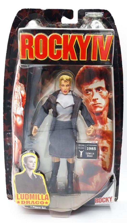 Action Figure Ludmilla Drago: Rocky IV (Original Release 27 November 1985) - Jakks Pacific