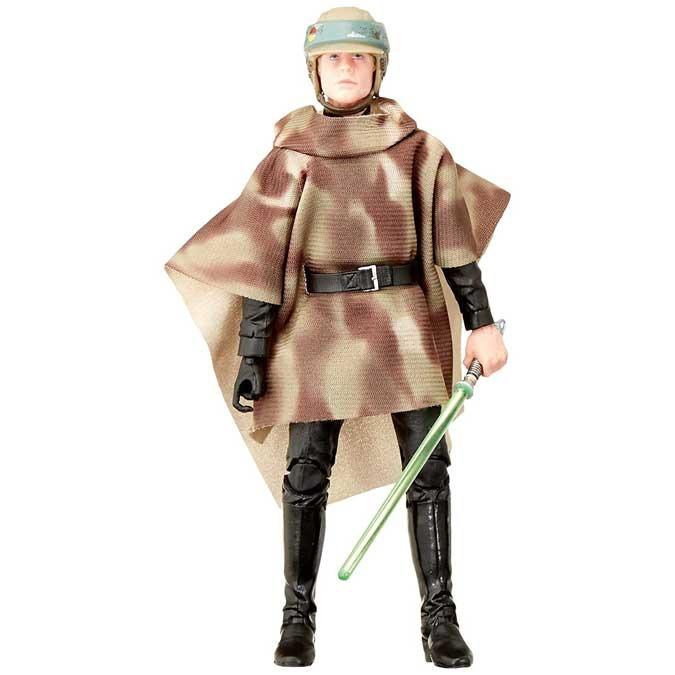 Action Figure Luke Skywalker Endor: Star Wars The Black Series Return Of The Jedi E9360 - Hasbro