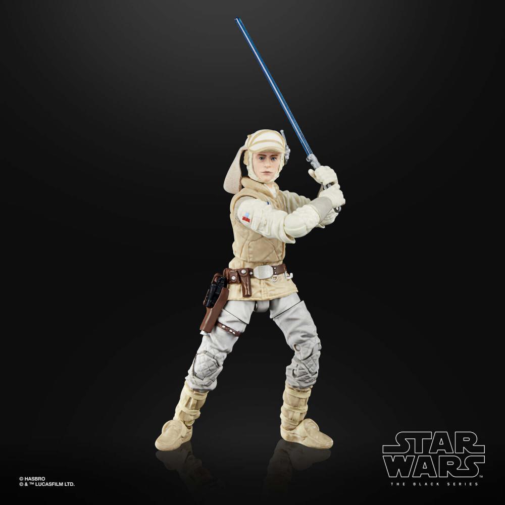 Action Figure Luke Skywalker (Hoth): Star Wars (The Black Series 1) 50 LucasFilm Ltd - Hasbro