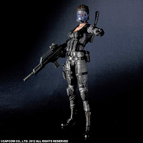 Action Figure Lupo: Resident Evil Operation Raccoon City (Boneco Colecionável) - Play Arts Kai Square Enix