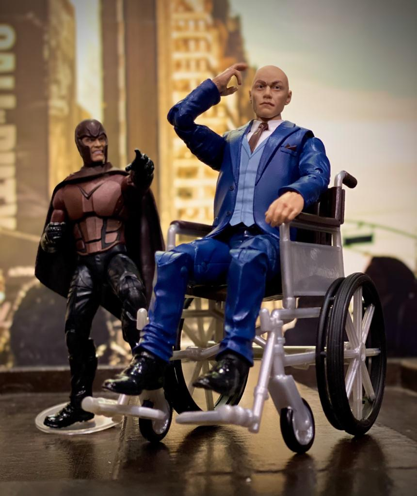 Action Figure Magneto e Professor X: X-Men (Marvel Legends Series) - Hasbro