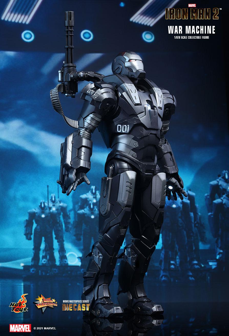 Action Figure Máquina de Combate War Machine: Homem De Ferro 2 Iron Man 2 MMS331 D13 Die Cast Escala 1/6 Marvel - Hot Toys