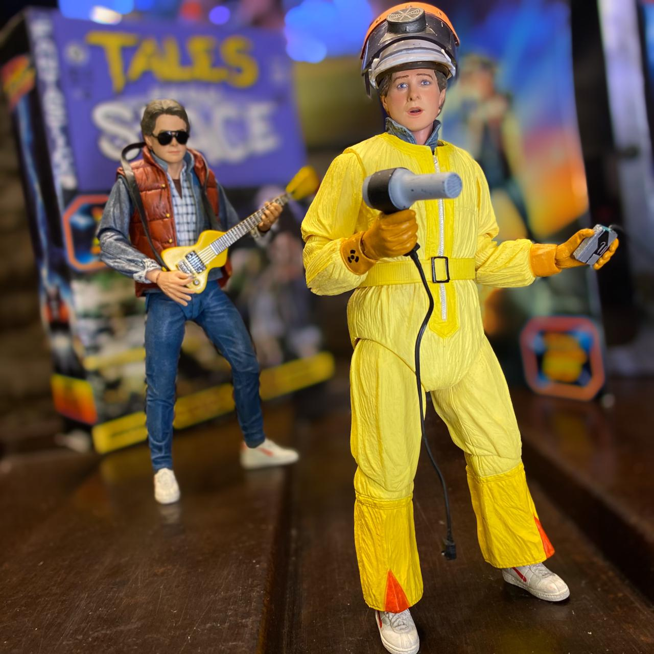 Action Figure Marty Mcfly: De Volta Para o Futuro ''Back To The Future'' Ultimate Tales From Space - NECA