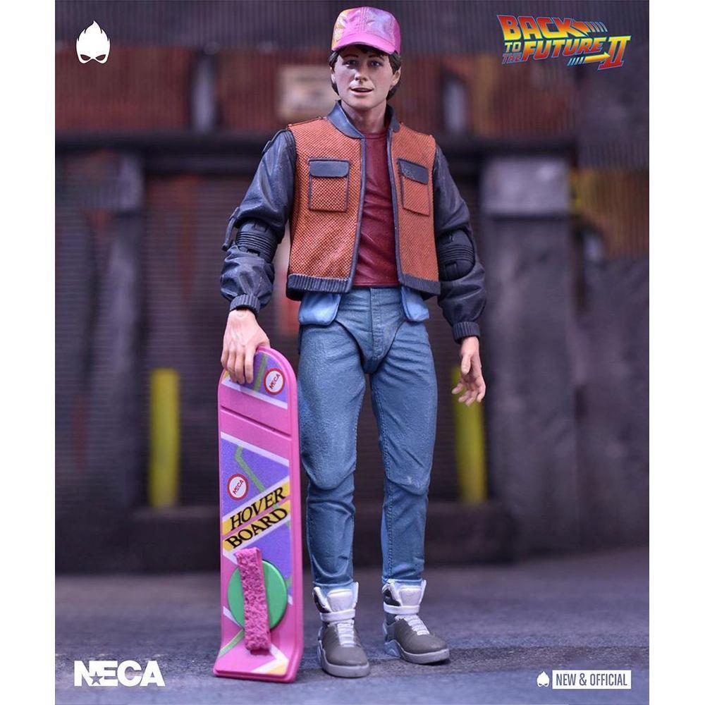 Action Figure Marty McFly (Ultimate): De Volta Para o Futuro (Parte 2) (Back To The Future) - Neca - MKP