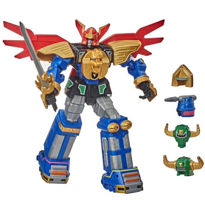 Action Figure Megazord Zeo: Mighty Morphin Power Rangers Zeo - Hasbro