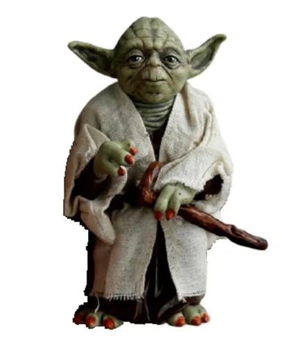 Action Figure Mestre Yoda: Star Wars