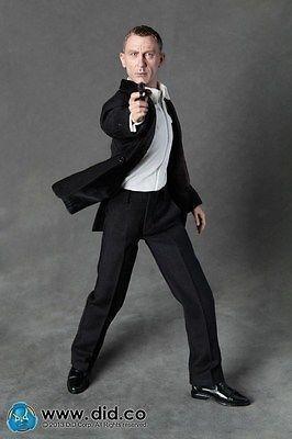 Action Figure Mi6 Agent Jack Military Intelligence: 007 Skyfall Escala 1/6 - Did.co