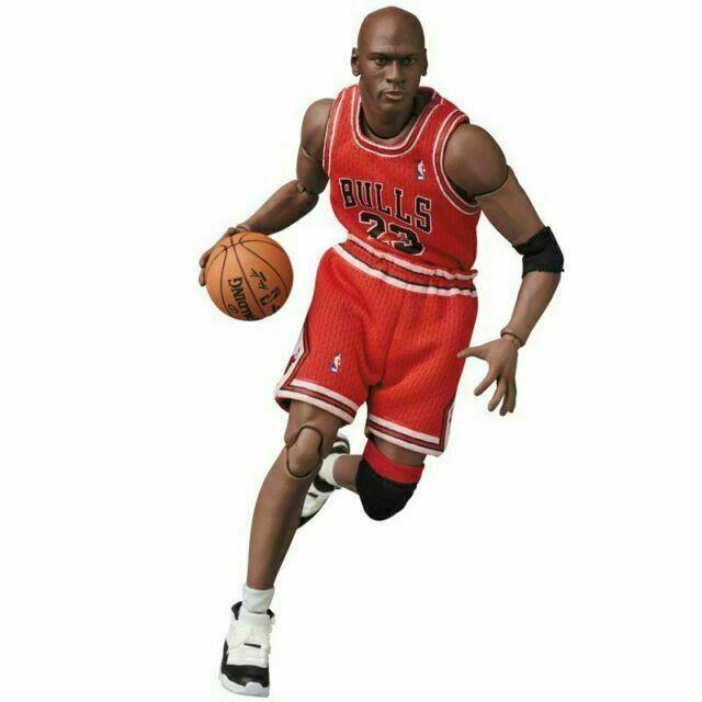 Action Figure Michael Jordan Chicago Bulls No.100 NBA - Maf Ex
