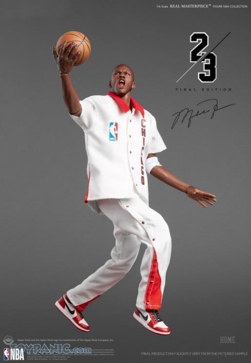Action Figure Michael Jordan limited Edition : NBA (Real Masterpiece) Chicaco Bulls 23 Escala 1/6 - Emierbry's