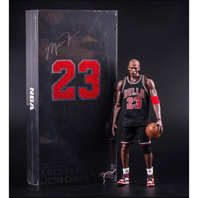 Action Figure Michael Jordan: NBA (Real Masterpiece) (The Last Shot Edition) (Series 2 )(Escala 1/6) - Enterbay