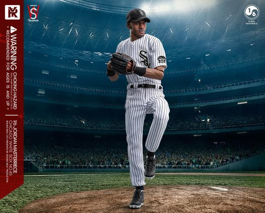PRÉ VENDA: Action Figure Michael Jordan SQX No.45 : Baseball Escala 1/6 - Last Swing Figure