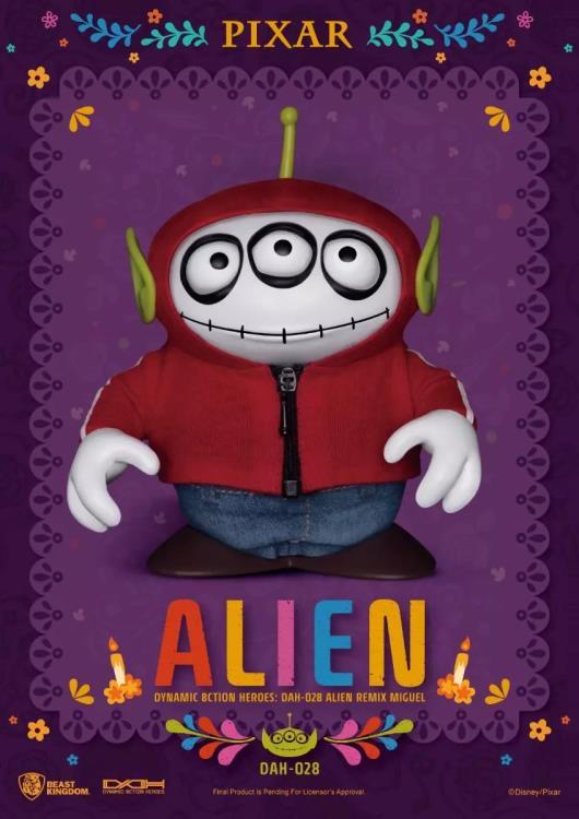 PRÉ VENDA: Action Figure Miguel de Coco: Alien Toy Story Remix - Beast Kingdom