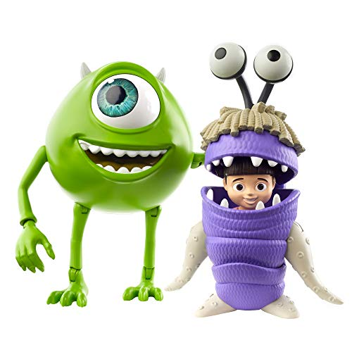 Action Figure Mike Wazowski e Boo: Monstro S.A - Mattel