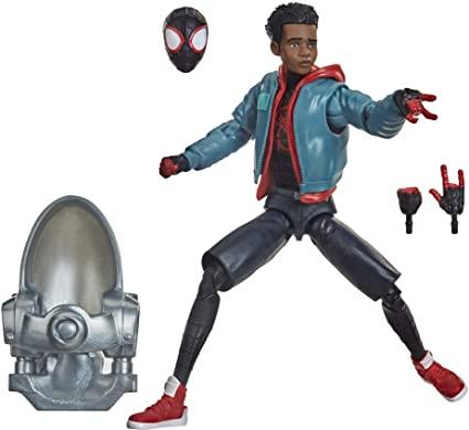 Action Figure Miles Morales: Homem-Aranha no Aranhaverso (SpiderMan Into The SpiderVerse) Marvel Legends Series - Hasbro