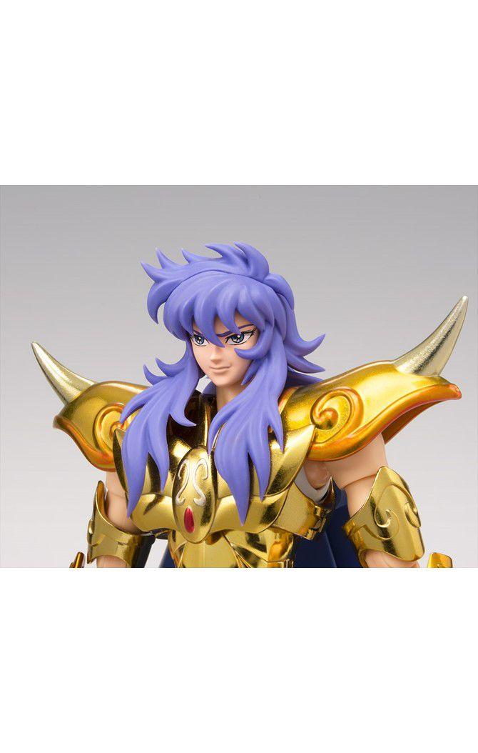 Action Figure Milo de Escorpião (Escorpio Milo Saintia Sho): Os Cavaleiros do Zodíaco (Saint Seiya) Cloth Myth EX - Bandai