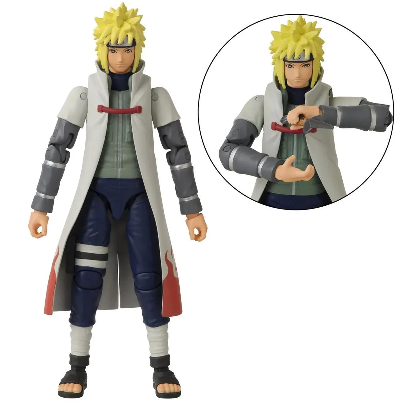 Action Figure Minato Namikaze: Naruto Shippuden (Anime Heroes) Anime Mangá - Bandai