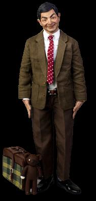 Action Figure Mr Bean: Mr Bean (Real Masterpiece) Escala 1/6 - Enterbay