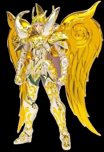 Action Figure Mu de Áries (Aries Mu) God Cloth: Os Cavaleiros do Zodíaco Saint Cloth Myth EX Soul Of Gold - Bandai