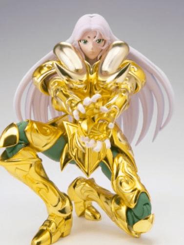 Action Figure Mu de Áries (Aries Mu): Os Cavaleiros do Zodíaco (Saint Seiya) Cloth Myth EX - Boneco Colecionável - Bandai