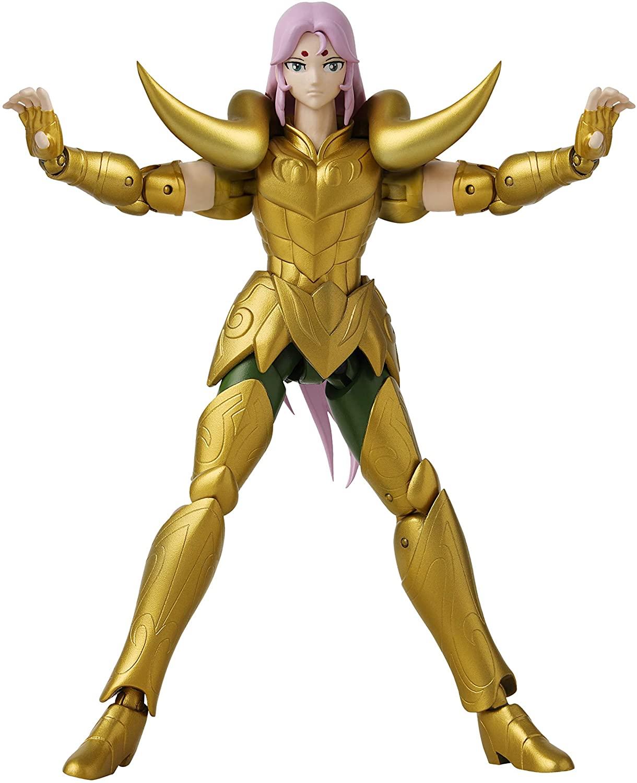 Action Figure Mu de Áries: Os Cavaleiros dos Zodíaco (Anime Heroes) Anime Mangá - Bandai