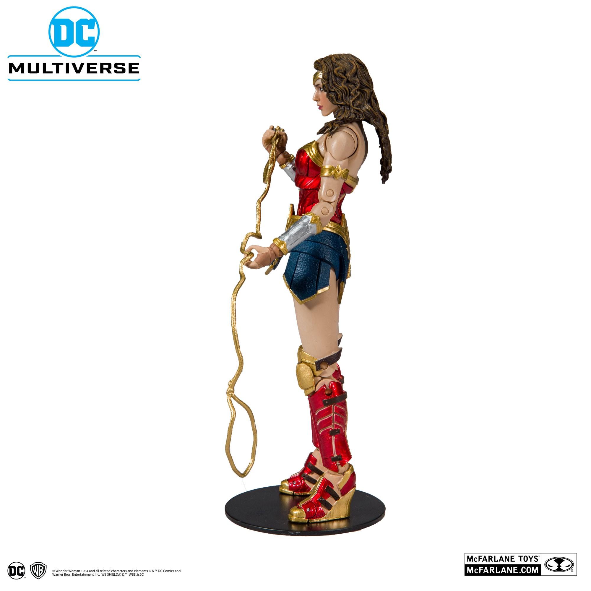 Action Figure Mulher Maravilha (Wonder Woman): Wonde Woman 1984 (DC Multiverse) - McFarlane Toys