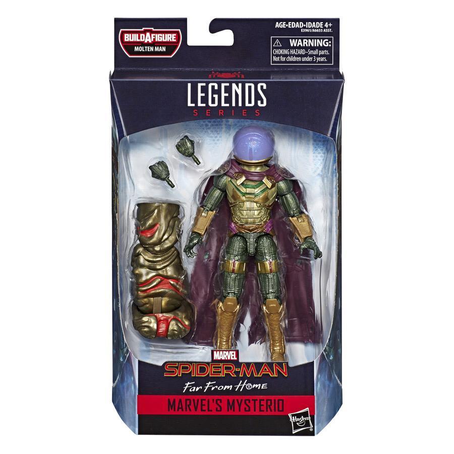 Action Figure Mysterio: Homem-Aranha  Longe de Casa (Far From Home) Marvel Legends - Hasbro