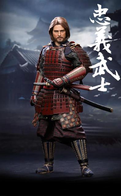 Action Figure Nathan Elgren Tom Cruise: O Último Samurai (The Last Samurai) Escala 1/6 - EVALI