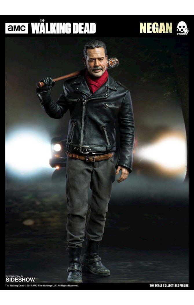 Action Figure Negan: The Walking Dead Escala 1/6 - Boneco Colecionável - ThreeA