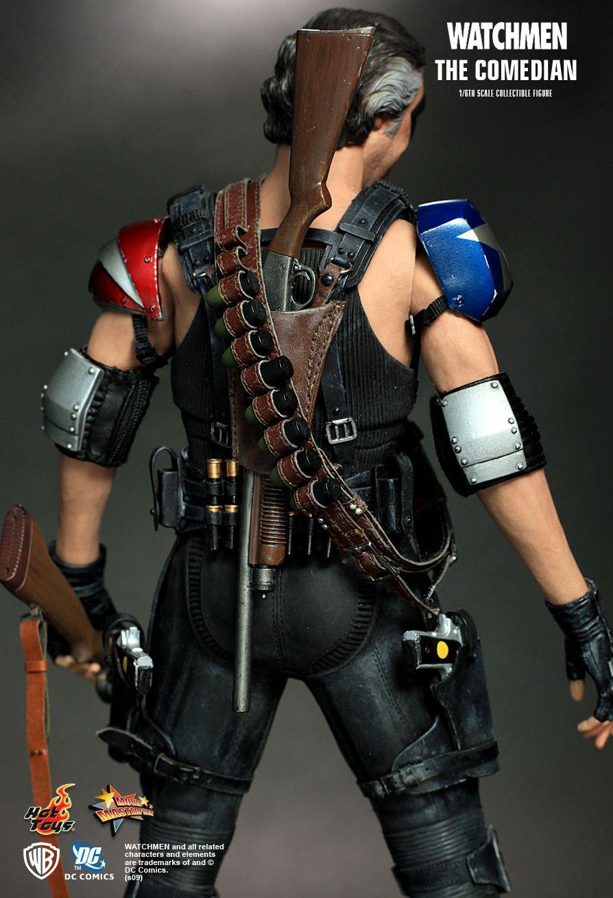 Action Figure O Comediante (The Comedian): Watchmen - Escala 1/6 (MMS115) Boneco Colecionável - Hot Toys