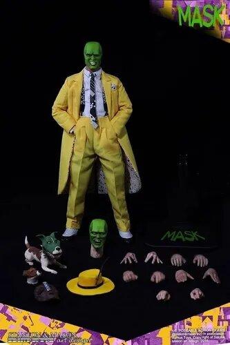 Action Figure O Máskara: O Máskara (The Mask) (Escala 1/6) - Asmus Collectible