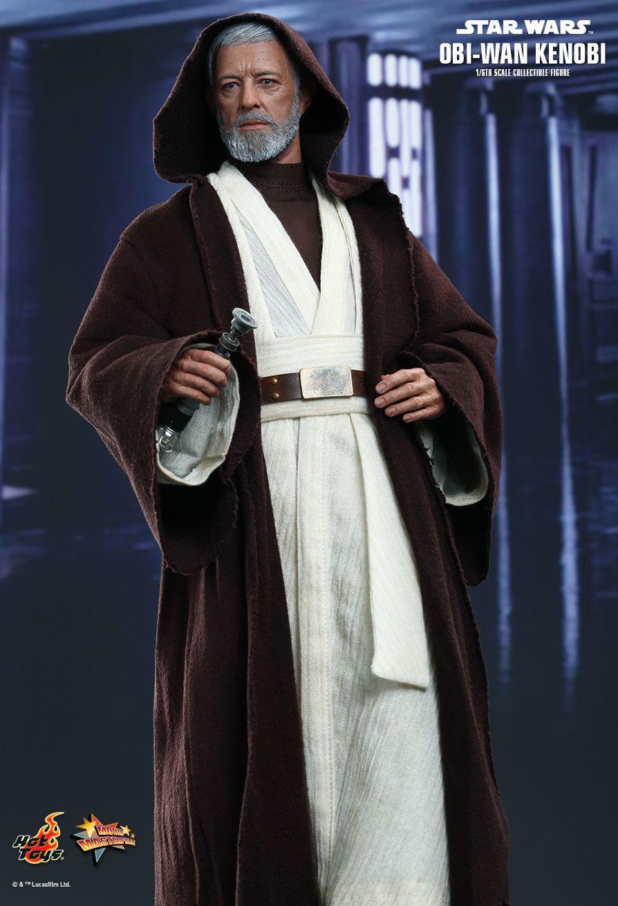 Action Figure Obi-Wan Kenobi: Star Wars Escala 1/6 (MMS283) - Hot Toys
