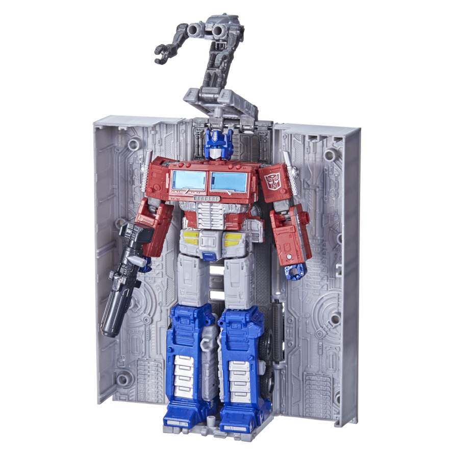 Action Figure Optimus Prime: Transformers War For Cybertron (Kingdom) - Hasbro