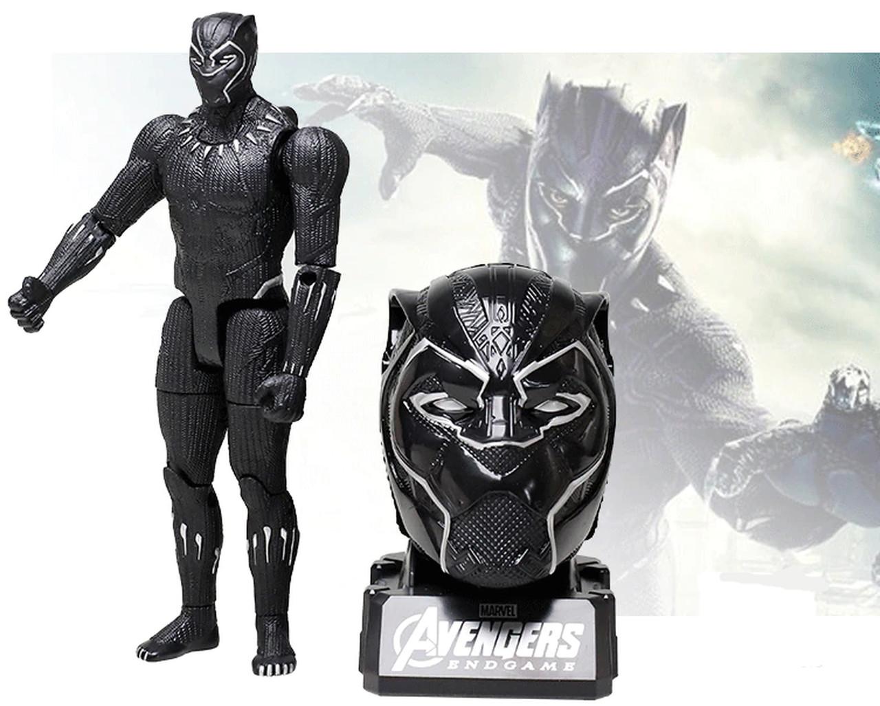 Action Figure Pantera Negra: Vingadores Ultimato Avengers End Game - Marvel - MKP