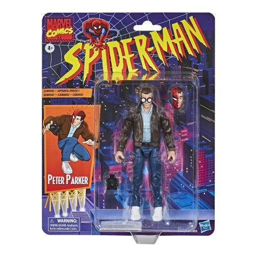 Action Figure Peter Parker: Homem Aranha (Spider-Man) (Legends Vintage) - Hasbro