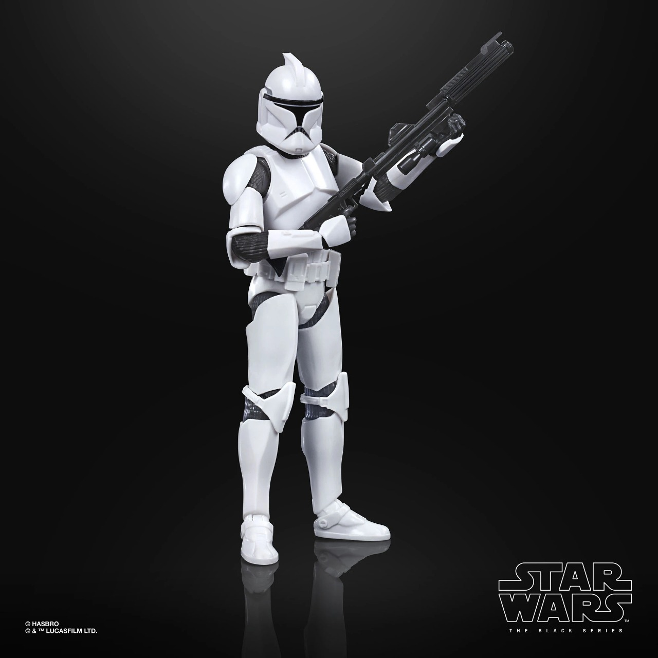 Action Figure Phase 1 Clone Trooper: Star Wars The Black Series Attack Of The Clones E9367 - Hasbro