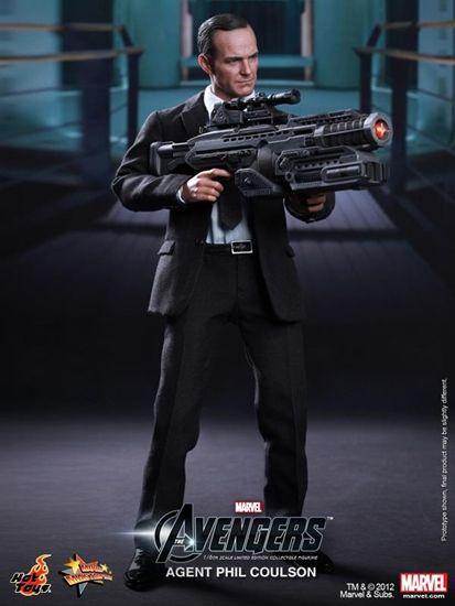 Action Figure Phil Coulson: Vingadores Avengers Shield Marvel Escala 1/6 - Hot Toys