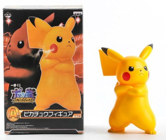 Action Figure Pikachu (Pokkén Tournament): Pokémon (Boneco Colecionável)