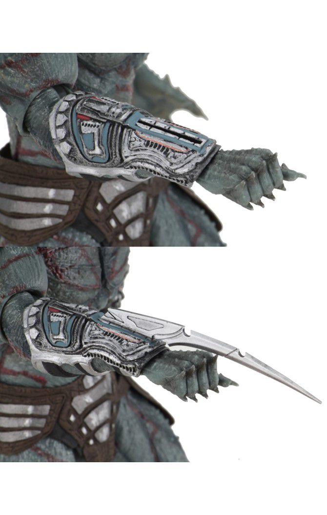 Action Figure Predador (Armored Assassin ): O Predador (The Predator  2018) Boneco Colecionável - Neca