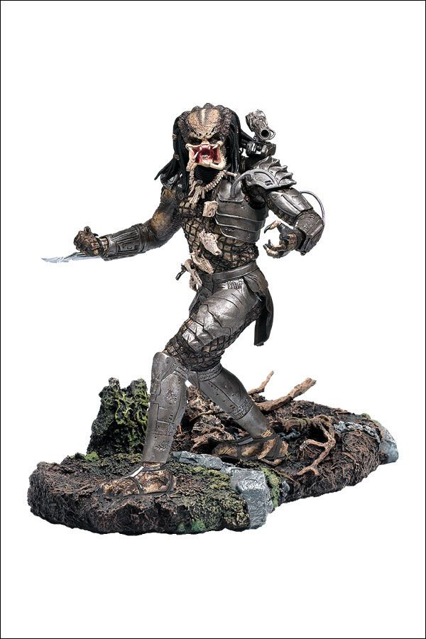 Action Figure Predador (Predator): Alien vs Predador (Alien vs Predator) Boneco Colecionável McFarlane - CG