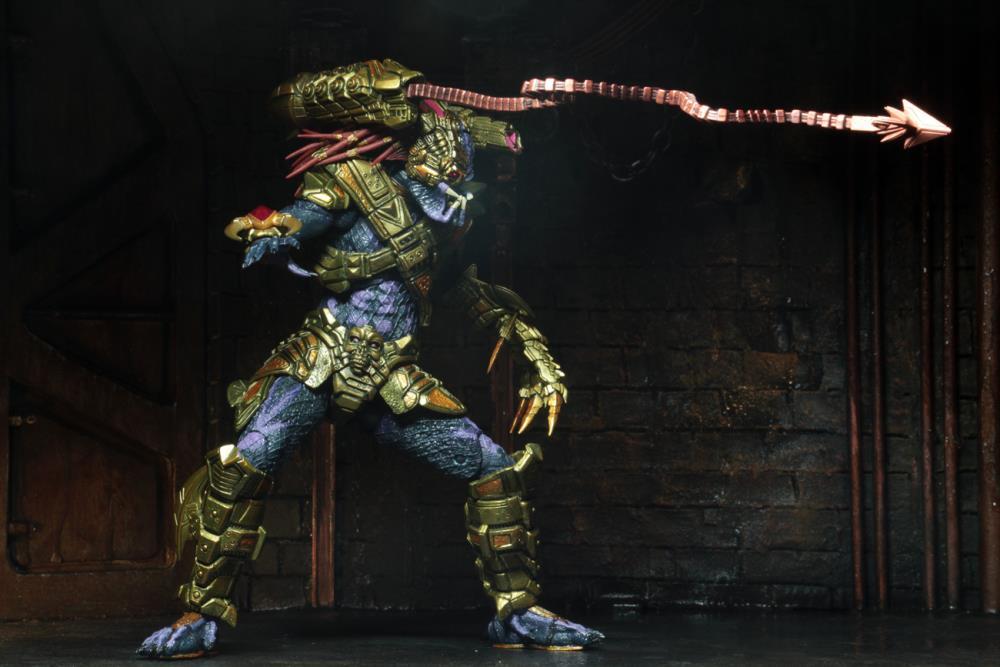 PRÉ VENDA Action Figure Predador (Predator): Lasershot Predator - Boneco Colecionável - Neca